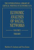 Cover Economic Analyses of Social Networks