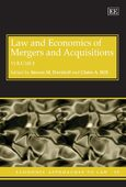 Cover Law and Economics of Mergers and Acquisitions