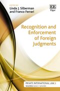 Cover Recognition and Enforcement of Foreign Judgments