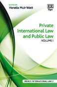 Cover Private International Law and Public Law