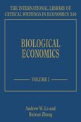 Cover Biological Economics