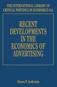 Cover Recent Developments in the Economics of Advertising