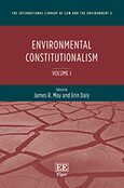 Cover Environmental Constitutionalism