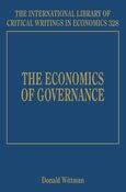 Cover The Economics of Governance