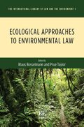 Cover Ecological Approaches to Environmental Law
