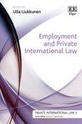 Cover Employment and Private International Law