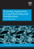 Cover Economic Approaches to Legal Reasoning and Interpretation