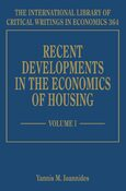 Cover Recent Developments in the Economics of Housing