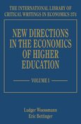 Cover New Directions in the Economics of Higher Education
