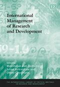 Cover International Management of Research and Development