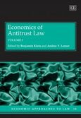 Cover Economics of Antitrust Law