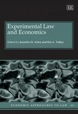 Cover Experimental Law and Economics