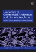 Cover Economics of Commercial Arbitration and Dispute Resolution