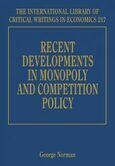 Cover Recent Developments in Monopoly and Competition Policy