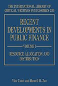 Cover Recent Developments in Public Finance