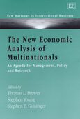 Cover The New Economic Analysis of Multinationals