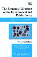 Cover The Economic Valuation of the Environment and Public Policy