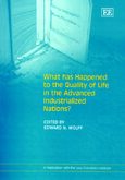 Cover What Has Happened to the Quality of Life in the Advanced Industrialized Nations?