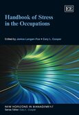 Cover Handbook of Stress in the Occupations