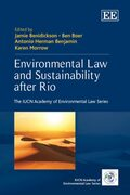 Cover Environmental Law and Sustainability after Rio