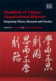 Cover Handbook of Chinese Organizational Behavior