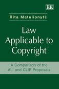 Law Applicable to Copyright