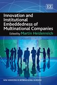 Innovation and Institutional Embeddedness of Multinational Companies