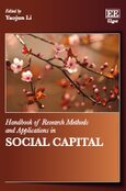 Cover Handbook of Research Methods and Applications in Social Capital