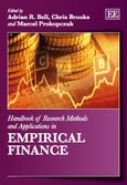 Cover Handbook of Research Methods and Applications in Empirical Finance