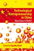 Cover Technological Entrepreneurship in China