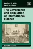 Cover The Governance and Regulation of International Finance
