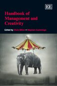 Cover Handbook of Management and Creativity