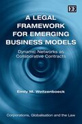Cover A Legal Framework for Emerging Business Models