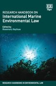 Cover Research Handbook on International Marine Environmental Law