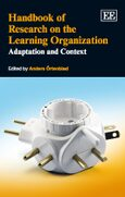 Cover Handbook of Research on the Learning Organization