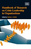 Cover Handbook of Research on Crisis Leadership in Organizations