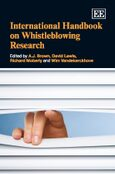 Cover International Handbook on Whistleblowing Research