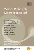 Cover What's Right with Macroeconomics?