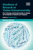 Cover Handbook of Research on Techno-Entrepreneurship, Second Edition