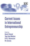 Cover Current Issues in International Entrepreneurship