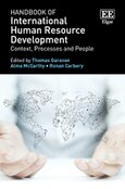 Handbook of International Human Resource Development