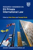 Cover Research Handbook on EU Private International Law