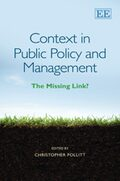 Cover Context in Public Policy and Management
