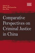 Cover Comparative Perspectives on Criminal Justice in China