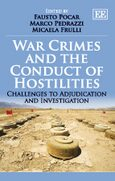 Cover War Crimes and the Conduct of Hostilities