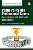 Cover Public Policy and Professional Sports