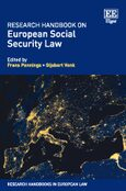 Cover Research Handbook on European Social Security Law