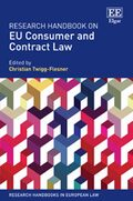 Cover Research Handbook on EU Consumer and Contract Law