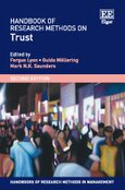 Cover Handbook of Research Methods on Trust