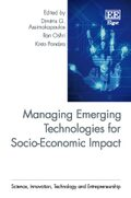 Cover Managing Emerging Technologies for Socio-Economic Impact